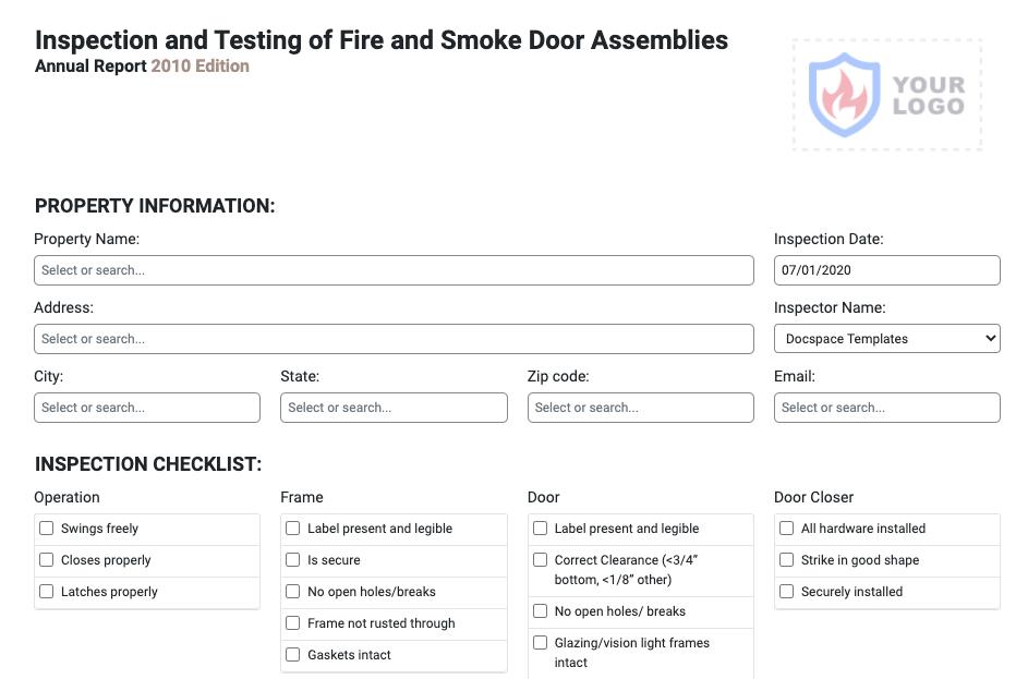 fire-door-inspection-form
