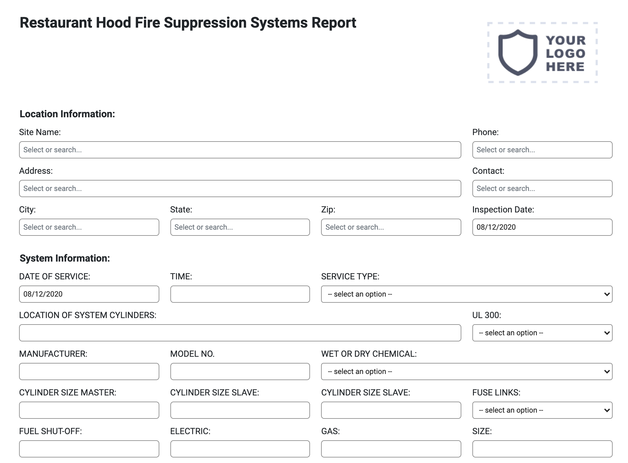 restuarant-hood-fire-suppression-report