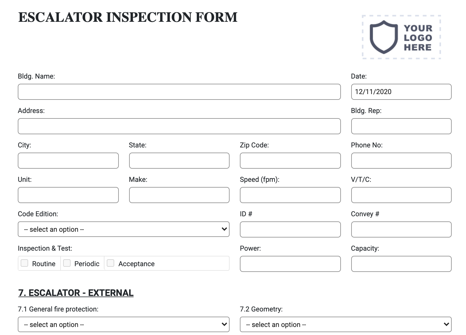 escalator-inspection-form