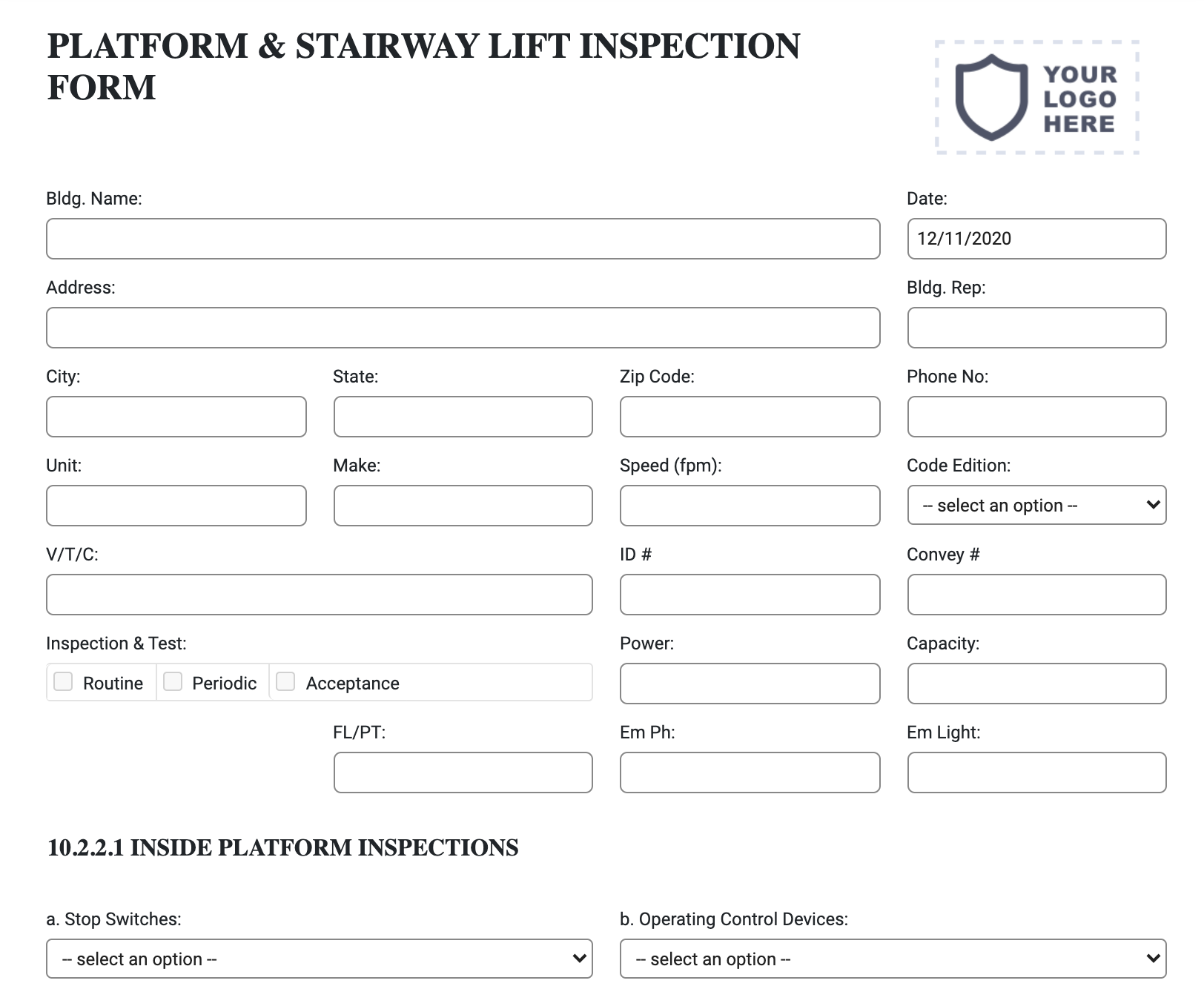 platform-stairway-lift-inspection-form